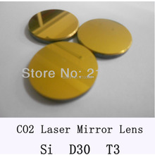 Si Co2 laser mirror 30mm diameter, thickness 3mm