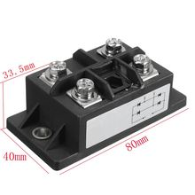 1PC New Arrival Black 150A Amp 1600V MDQ150A Single-Phase Diode Bridge Rectifier Power Module(China)