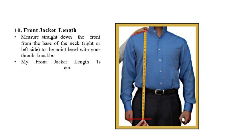 10 Coat Length