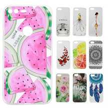 Misolocat for Google Pixel / Pixel XL Case Back Cover Soft Skin Transparent Painting Capa Funda Coque Panda Cat Watermelon(China)