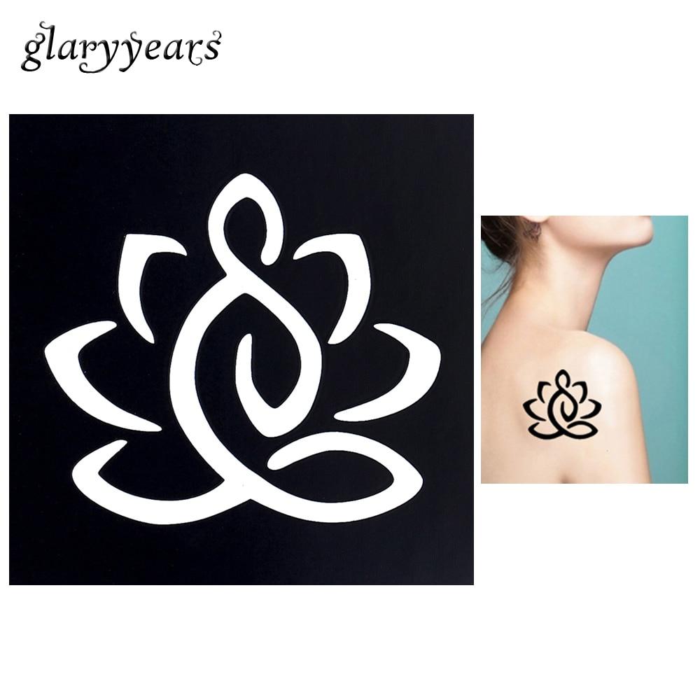 Flower art design tattoos