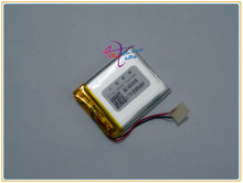 Zhejiang tachograph manufacturers supply 603040PL 650mAh lithium polymer battery digital special(China)