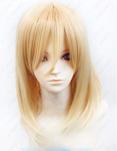 heat resistant Party hair &gt;&gt;&gt; Attack on Titan/Shingeki no Kyojin Christa Renz 55cm long Blond Cosplay Wig<br><br>Aliexpress
