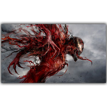 Carnage Spider Man DC Comics Superhero Poster Image For Home Decoration Silk Canvas Fabric Print Poster Wallpape DY1035
