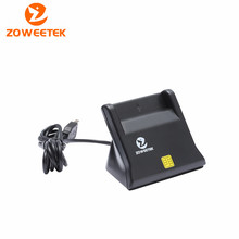 ZW-12026-3 ISO 7816 USB Chip Smart Card Reader Support Read and Write PC/SC EMV Reader