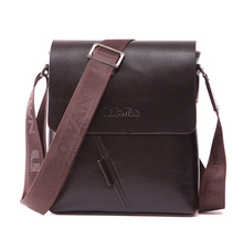 Sell Famous Brand Design Men Bag Casual Business Leather Mens Messenger Bag Vintage Men's Crossbody Bag bolsas male LJ-384(China)