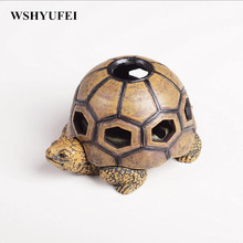 Creative personality turtle ashtray with a cover boyfriend gifts practical surprise home decorations coffee table Decoration(China)