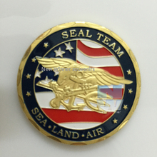 America Seal Team coin the United Sates Challenge gold eagle coins