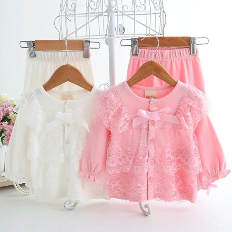 Brand Newborn Baby Comfortable Cotton Clothes Set Formal Baby Girl Lace Suit Spring Autumn Princess Infant Birthday Outfits<br><br>Aliexpress