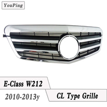 2010-2013y W212 Grille CL Type Grill For Mercedes W212 4D Sedan Benz E-class model use