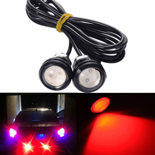 2pcs! Car styling Waterproof DIY LED Eagle Eye Auto DRL Daytime Running Light Bulb Brake Parking Lamp 9W 12V 2800 Lumens