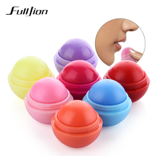 Fulljion 1Pcs Ball Lip Balm Moisturizing Lipstick Lip Protector Sweet Taste Embellish Lip Ball Makeup Lipstick Gloss Cosmetic(China)