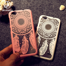 AKABEILA Cell Phone Cases For ZTE Blade S6 Q5 Q5-T Hollow Dream Catcher Plastic  Bags Covers For ZTE Blade S6 Q5 Hood Case Cover