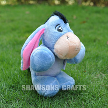 "WINNIE FRIENDS EEYORE 10"" PLUSH STUFFED TOYS THE DONKEY SOFT DOLL"