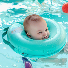 2017 NEW High quality safety baby need not inflatable floating  ring round the neck round floating ring toy baby swimming pool