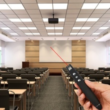 2 IN 1 USB Wireless Red Laser Pointer PPT Presenter Pen for Desktop laptop Powerpoint Presentation with RF Remote Control