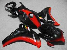Injection mold Fairing kit for HONDA CBR1000RR 08 09 10 11 CBR 1000RR 2008 2009 2011 ABS Red black Fairings set+7gifts HH31