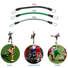 Adjustable Padded Ankle Training Belt Resistance Band Rope Tube Set Leg Strength Bounce Speed Exercise Fitness Equipment