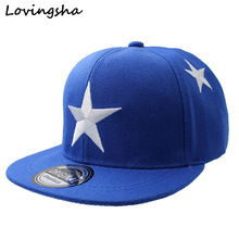LOVINGSHA Boy Baseball Cap For 3-8 Years Old Children Big Stars Design Snapback Cap High Qaulity Adjustable Cap  For Girl  CC009