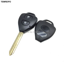 20pcs/lot Replacement Car Transponder Key shell For Toyota Keys Toyota Camry 2 button toy47 blade