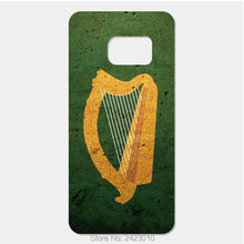 Coat of arms harp ireland Flag Cover Case For Samsung Galaxy S8 S7 S6 Edge Plus S5 S4 S3 mini 2017 J7 J5 J3 A7 A5 A3 Phone cases(China)