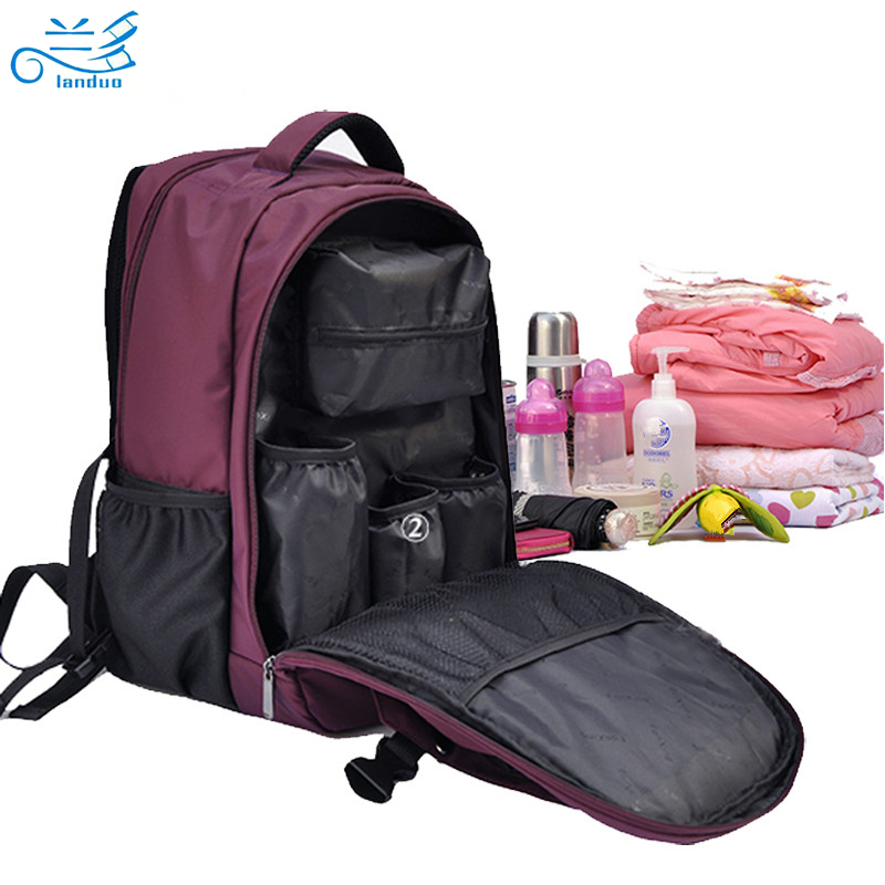 Update multifunctional baby nappy bag baby diaper bag bolsa maternidade mummy maternity diaper bag handbag shoulder bag Backpack<br><br>Aliexpress