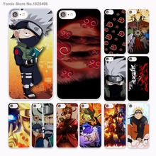 Anime Naruto vs Sasuke Design hard White Skin Case for Apple iPhone 6 6s Plus 7 7Plus SE 5 5s 5c phone case(China)