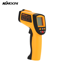 Digital IR Infrared Thermometer Quality LCD Laser Temperature Tester Diagnostic Gun 12 : 1 Non-Contact hygrometer -50-700C(China)