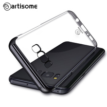 ARTISOME Case For Samsung Galaxy S8 S8 Plus Plastic Hard Back Cover Fashion Transparent PC Coque For Samsung S8 S8 Plus Cases(China)