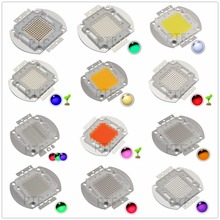 1pcs High Power LED Chip 100W Natural Cool Warm White Red Blue Green UV RGB IR Full Spectrum Grow Light 100 W for Floodlight(China)
