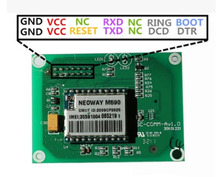 5pcs/lot GPRS+SMS+GSM+SIM Ultra Small Module Support Lithium Battery TCP Or UDP