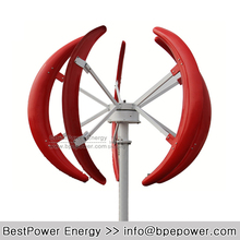 Free Shipping, High Tech 1000W 1KW 48V Vertical Axis Wind Turbine Generator, Max. Power 1500W Wind Power Generator