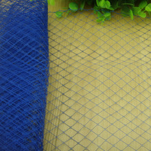 "10""/25 cm ROYAL BLUE birdcage veils for fascinators bridal hair accessories Millinery hats party headwear nettings event hats"