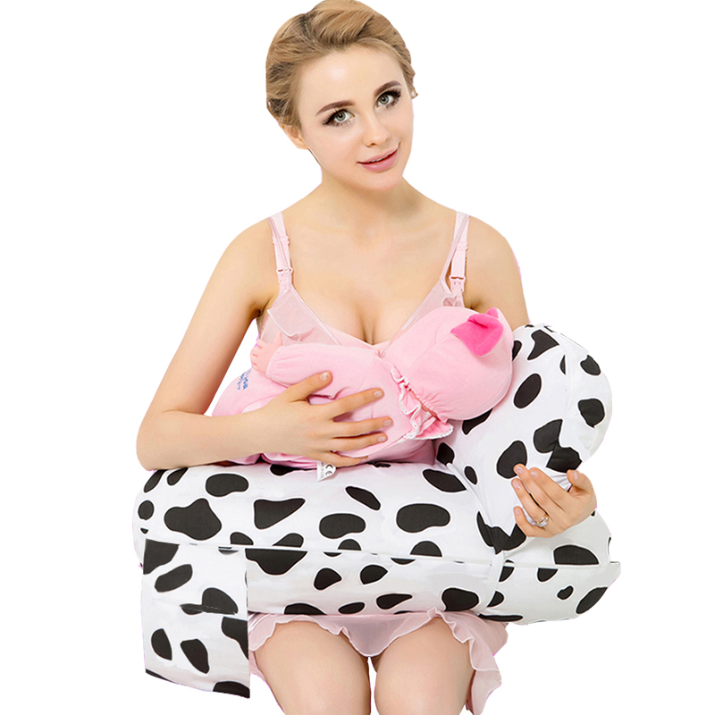 Free shipping On Sale 100% Cotton Baby Nursing Pillow For Breastfeeding Use Baby Cotton Pillow Cojin De Lactancia 2Pcs one Set<br>
