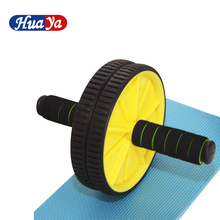 2017 Good Quality Abdominal Abs Exercise AB Wheel Fitness Body Gym Strength Training Roller