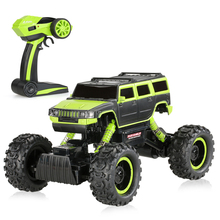 Buy rc car 2.4G 2CH 1:14 Scale 4WD LED Light Electric RTR Rock Crawler Off-road RC Car remote control vehicle rock crawler toy for $54.24 in AliExpress store