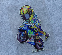 1pcs Moto GP Reflective Vinyl Decals Sticker  valentino rossi vr 46 sticker motobike decals motorcycle racing sticker custom