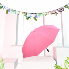Hot Sale New 7 Bone Inverted  Folding Sunscreen Wind Anti-Car Umbrella Children Woman Easy To Carry