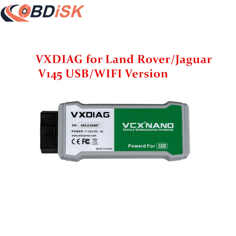 2017 Newest VXDIAG VCX NANO Scanner for Land Rover and Jaguar 2 in 1 with Software SSD V145 Updatable WIFI Diagnostic Tool<br><br>Aliexpress