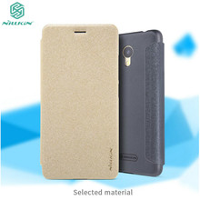 Meizu M5c Case Original NILLKIN Sparkle PU Leather Case Flip Cover For Meizu M5c M5 C Cover Case 5.0 inch(China)