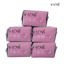 VLOVE Woman's sanitary pads with Patented Anion Chip  5*10Pieces