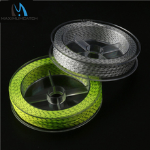 Maximumcatch 2 Pcs 20LB Backing Fly Fishing Line 100Yards Double Color Backing Line Backing Fly Line(China)