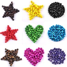 LNRRABC 5AAA+ 1000 pcs/lot 3.5mm DIY Round Wood Spacer Beads for Jewelry Making Bracelet Necklace Free Shipping Wholesale