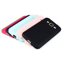 New UltraThin Candy TPU Matte Case For Samsung Galaxy Core Prime G360 G3608 G360H G361H Silicone Gel Soft Back Cover Shell