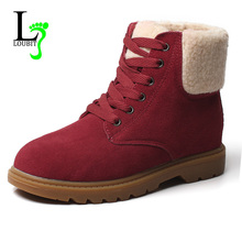 Buy Women Boots Fashion Fur Snow Winter Boots Women Boots 2017 Women Ankle Boots Winter Shoes Warm Snow Size35-40 for $25.99 in AliExpress store