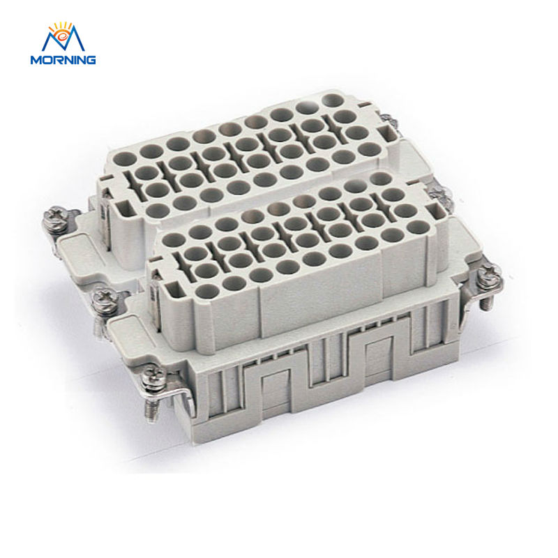 HEE-064 High Quality Industrial Usage Female 64 Pins Weidmuller Can Be Used In Injection Mold Machine<br>