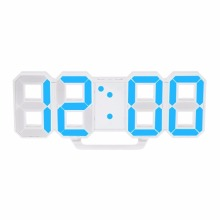Modern Design Large Size Digital LED Wall Clock Watch Unique Vintage Home Decoration Timer Watch Alarm Clocks Hot New(China)
