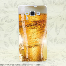 92F Beer Drink Hard Transparent Case Cover for Galaxy A3 A5 7 8 J5 J7 & Note 2 3 4 5 7 & Grand 2 & Prime