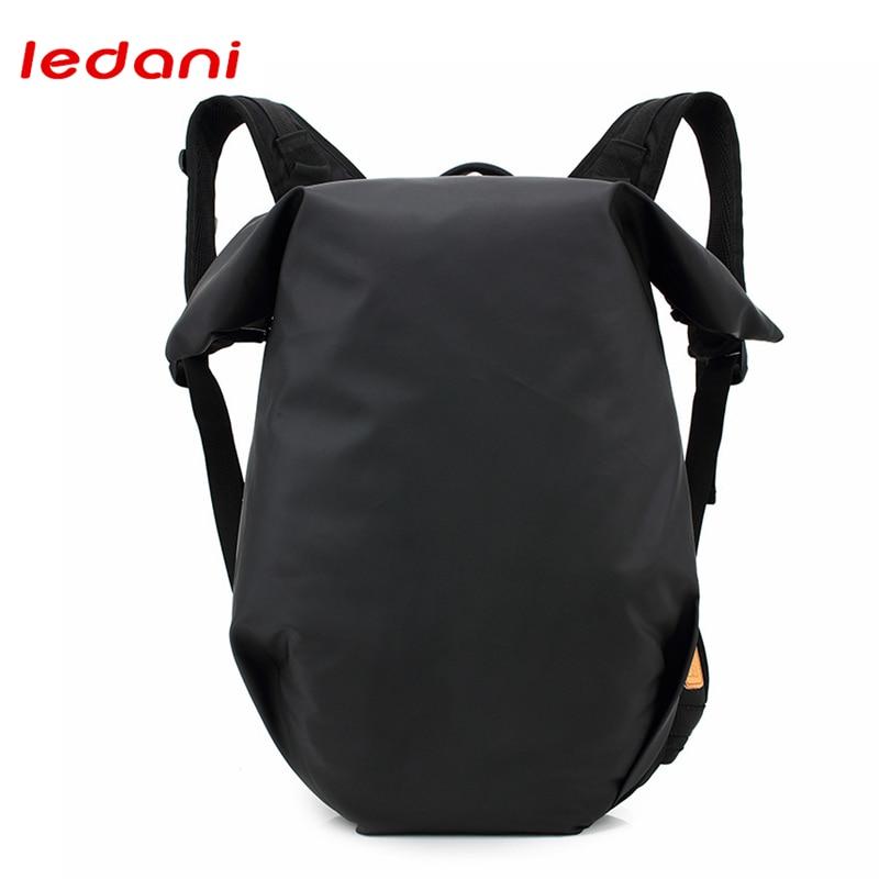 LEDANI Waterproof Men Leisure Travel Backpack Multifunction School Travel Unisex Women Laptop Backpack For 14 Inch Black Green<br>