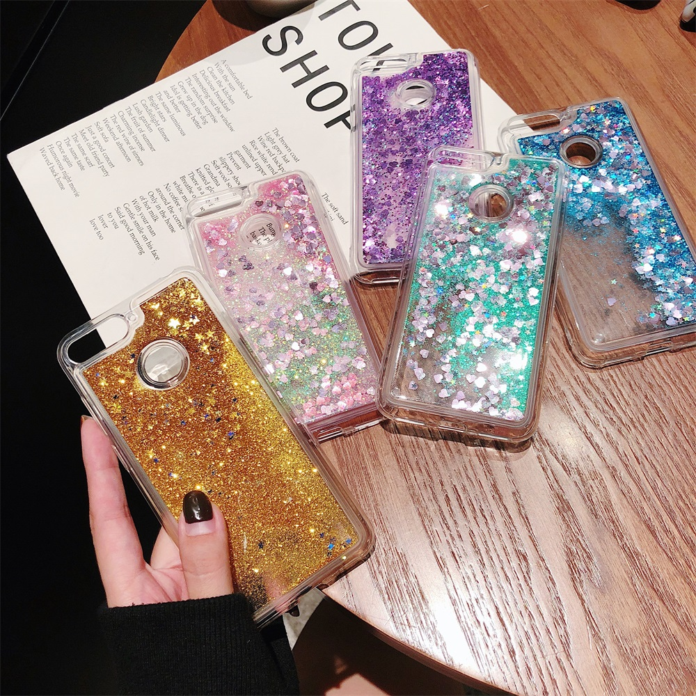 Liquid Quicksand Bling Case For Huawei Honor 9 5C 5X 6A 6C 6X 7X 8 8X 10 V8 V9 V10 Lite Play Pro Y5 Y6 II Soft TPU Case Cover(China)